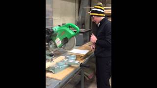 Compound Miter Saw Safety And Operations