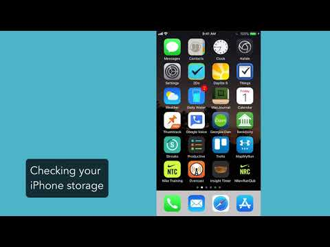 Checking and cleaning up your iPhone storage