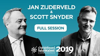 Future Talent Conference 2019: Jan Zijderveld in conversation with Scott Snyder