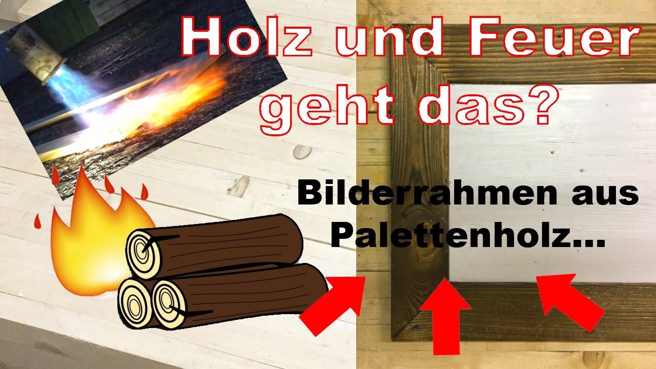 Anleitung DIY Holz Bilderrahmen selber machen - upcycling aus ...