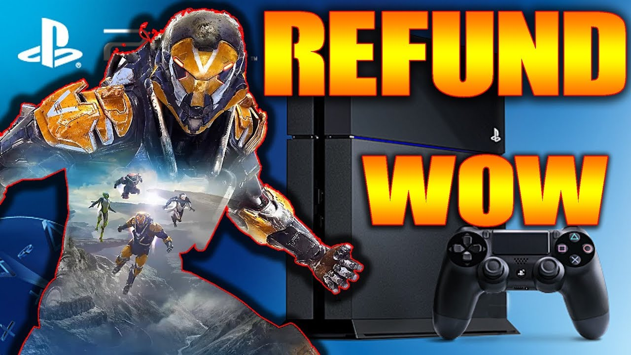 REFUND ON PS4 GAME THAT CAUSES SYSTEM TO CRASH ERROR BREAK System