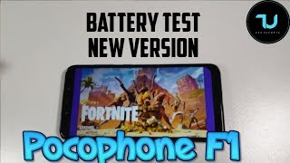 Pocophone F1 FORTNITE update/patch/version! Season 8 battery drain test/gaming/ SOT