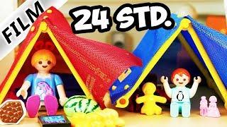 Playmobil Film deutsch 24 STUNDEN IM ZELT CHALLENGE Hannah vs. Emma Wer hält durch? Kinderserie