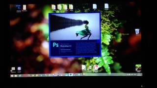 Тестирование скорости ssd crucial. Запуск photoshop.