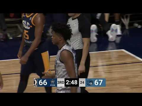 Justin Patton (15 points) Highlights vs. Salt Lake City Stars