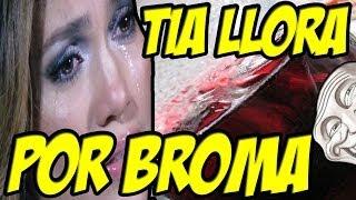 Tia Llora por Broma Telefónica Kalimotxo / Tortosicrack