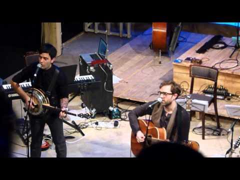 Hadley Fraser & Ramin Karimloo 'Just Let Go' & 'Edelweiss' London 10.02.13