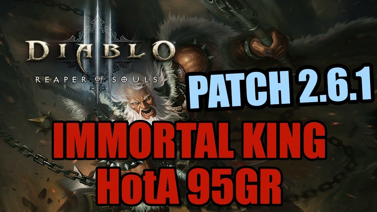 how to get immortal king set diablo 3 ps4