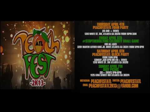 PeachFestATL 2k13: April 4th-7th (Hosted By Cory B, Emmanuel & Phillip Hudson) [User Submitted]