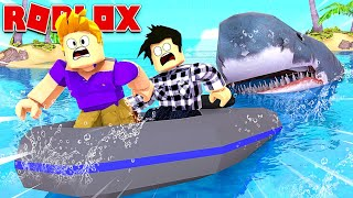 DEVORÉS BY THE GREATEST REQUIN IN ROBLOX!