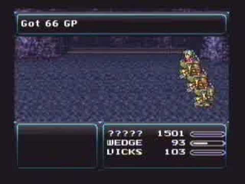 SNES <b>Final Fantasy 3</b> Lvl 99 in Narshe Caves - YouTube