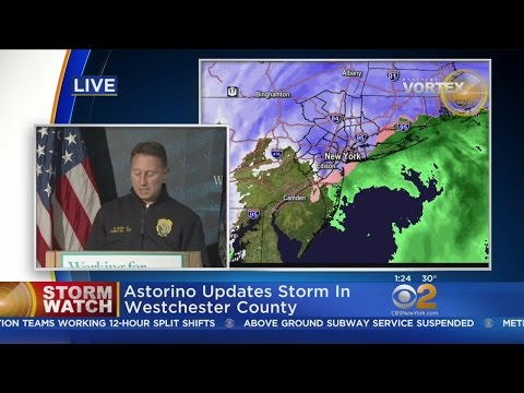 Westchester County Exec On Storm