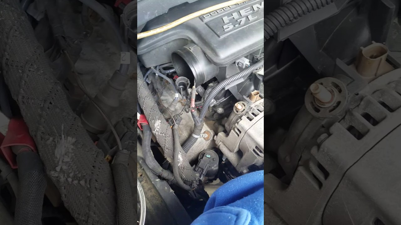 05 dodge durango limited how to change alternator [ 1280 x 720 Pixel ]