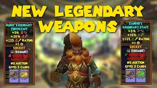 Wizard101: Are The New Craftable Legendary Weapons Worth It?