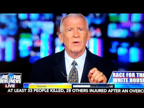 Media loves to attack Donald about changing positions on things,Oliver North said that shows wisdom