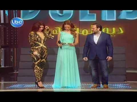 Celebrity Duets 3 Adel Hakki & Haifa Wahbe I ... - YouTube