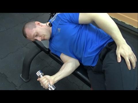 Упражнение если болят руки в плечах упражнение гирями