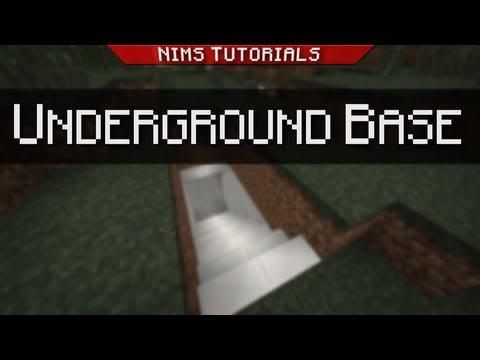 Minecraft: Tutorial | Sliding Underground Base v3.0