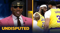 Shannon Sharpe celebrates after LeBron, AD & new-look Lakers win preseason debut | NBA | UNDISPUTED