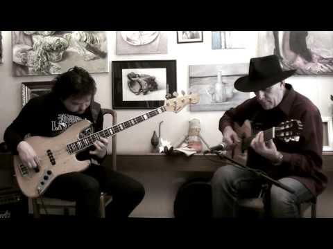 """Jake Pissak-guitar,Anton Gorbunov-bass.Song """"ANTONIA"""" written by Pat Metheny"""