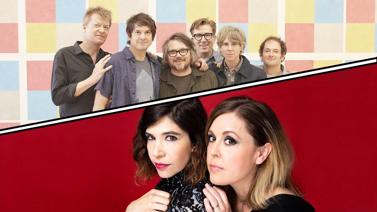 Wilco & Sleater-Kinney Announce Co-Headline Tour