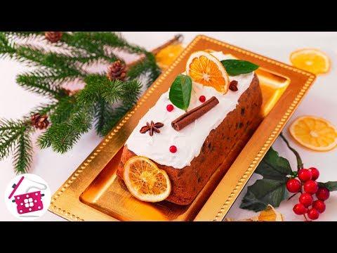 РОЖДЕСТВЕНСКИЙ КЕКС с Сухофруктами! Готовим Рождественскую и Новогоднюю ВЫПЕЧКУ на Праздничный стол