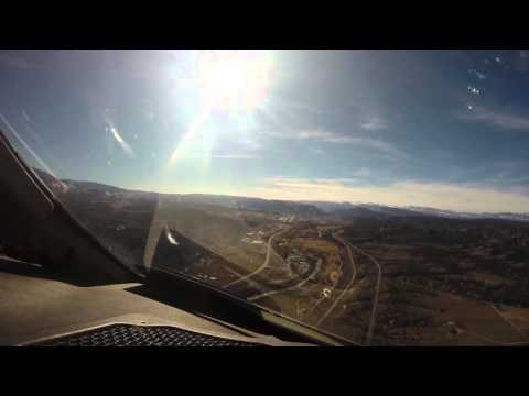 Eagle Colorado Airport KEGE LDA Runway 25 Approach