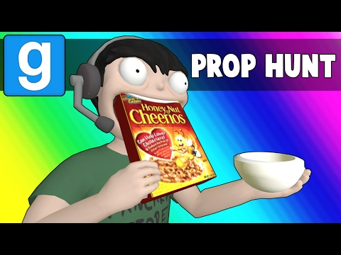 Thumbnail: Gmod Prop Hunt Funny Moments - The Breakfast Bunker (Garry's Mod)