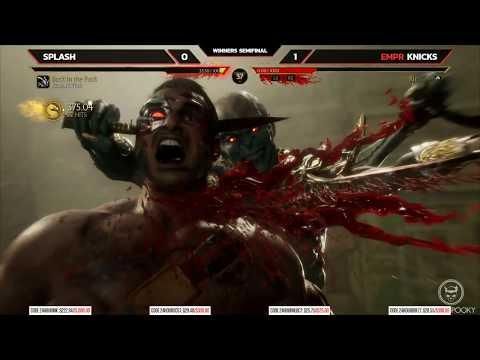 Mortal Kombat 11 Tournament - Top 8 Finals - NLBC 163 (TIMESTAMPS)