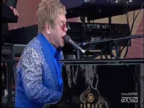 Elton John - JazzFest New Orleans May 2nd 2015