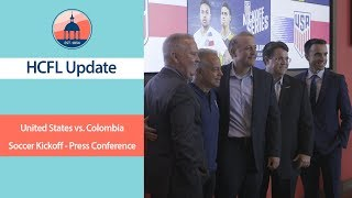 United States vs. Colombia - Soccer Kickoff - Press Conference