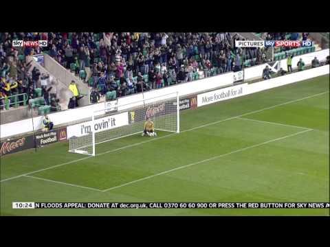 Scotland vs Iceland Goal HD from Half way line U21 Chris Maguire