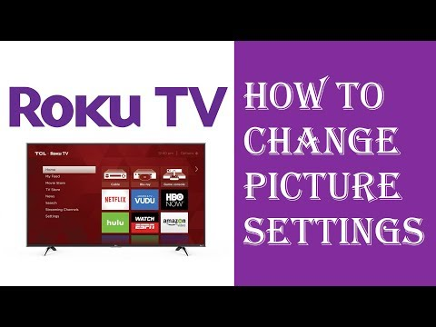 Roku TV - How To Change Picture Settings - Fix Picture