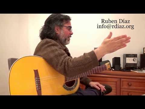Hand claps in modern flamenco (Buleria & Tangos) Ruben Diaz guitar teacher