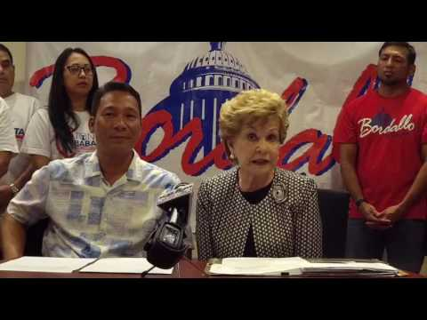 Tony Babauta concedes to Madeleine Bordallo, pledges support and party unity