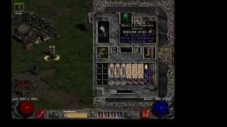 Diablo 2 Poison Nova necromancer guide with fast Chaos run! (Old)