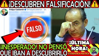 INESPERADO EN MIERCOLES ¡ CALDERON FALSIFICO ESTO NUNCA PENSO QUE LO DESCUBRIRIAN ! NOTICIA MEXICO
