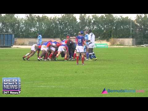 Bermuda vs Turks & Caicos, Rugby, March 7 2015