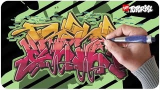 Mc Rene - Graffiti Tutorial Funky Style