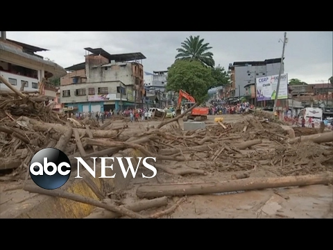 Death toll climbs over 200 after flash flood in Colombia
