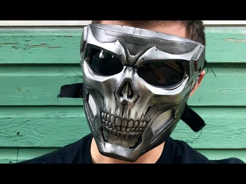 Tactical Skull Mask by Bellworkshop - Taskmaster Cosplay