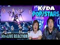 K/DA - POP/STARS (ft.(G)I-DLE, Madison Beer, Jaira Burns) | Mv & LIVE REACTION