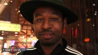 Shane Mosley's advice to Khan