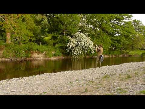 Fly Fishing With Cane Rods In Mid Wales