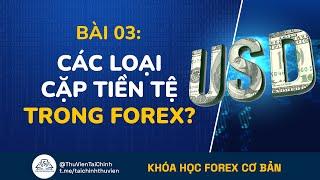 Bài 3: Các Cặp Tiền Tệ Trong Thị Trường Forex Ngoại Hối   Khóa Học Đầu Tư Forex Ngoại Hối
