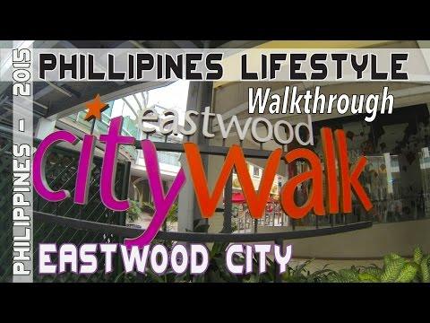 Manila Philippines Eastwood City Walkthrough | Asia Travel VLOG
