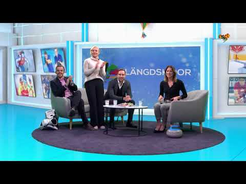Stina Nilsson tar guld – glädjeyra i studion