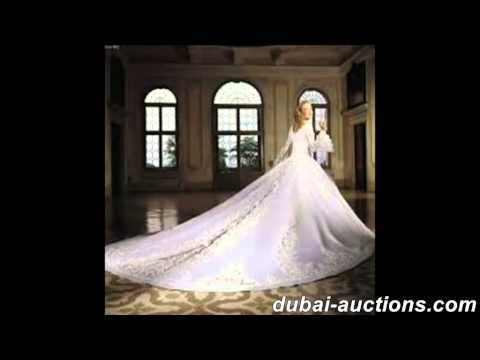 Buy Wedding Gowns & Dress from Dubai Auction Site..Free Delivery