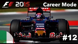 F1 2015 Gameplay Career Mode - Part 12 Monza (Italy)