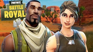 FORTNITE Battle Royale: WE PLAY WITHOUT SKIN and we CHEAT EVERYONE!